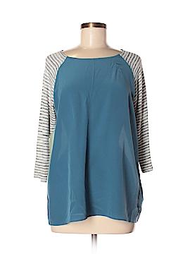 SJOBECK 3/4 Sleeve Silk Top Size M