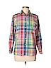 Foxcroft Women Long Sleeve Button-Down Shirt Size S (Petite)