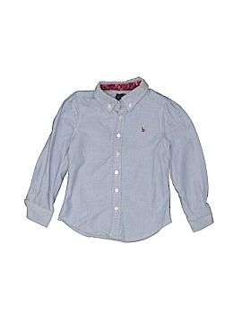 Polo by Ralph Lauren Long Sleeve Button-Down Shirt Size 4T