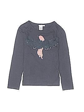 Billie Blush Long Sleeve T-Shirt Size 8