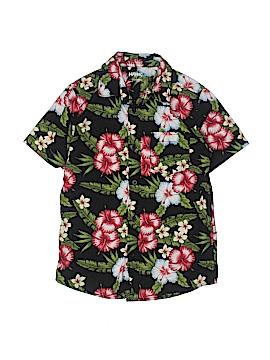 Hawk Short Sleeve Button-Down Shirt Size S (Kids)