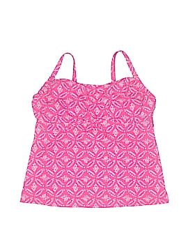 Lands' End Swimsuit Top Size 10
