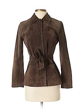 Ann Taylor LOFT Leather Jacket Size XS (Petite)