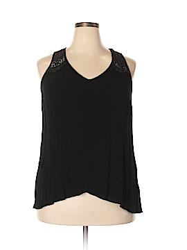 Karen Kane Sleeveless Blouse Size 1X (Plus)