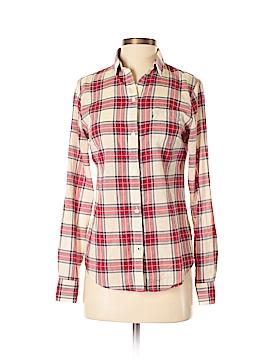Lands' End Long Sleeve Button-Down Shirt Size 2