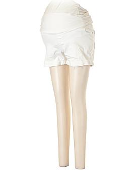 Liz Lange Maternity Denim Shorts Size M (Maternity)