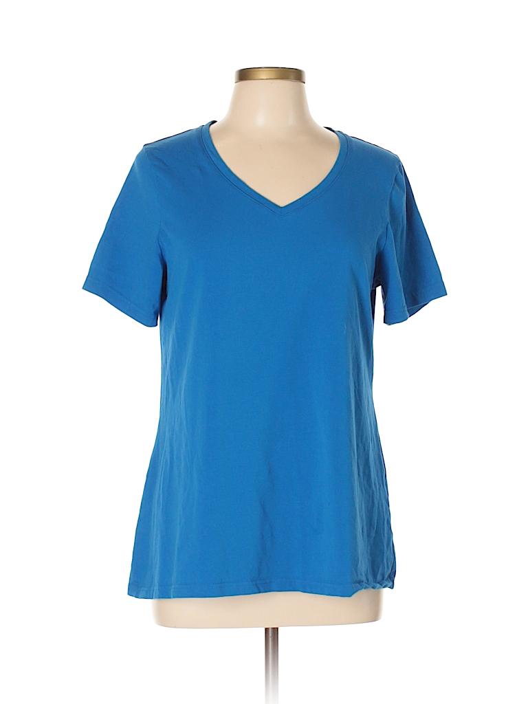 Avenue Women Short Sleeve T-Shirt Size 10 - 12 Plus (Plus)