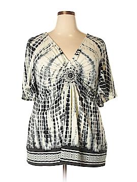 ECI Short Sleeve Top Size XXL
