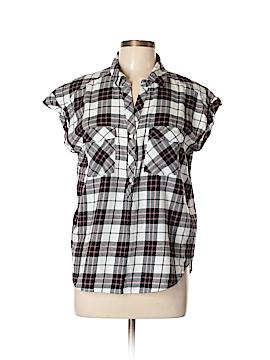 Soft Joie Short Sleeve Button-Down Shirt Size L