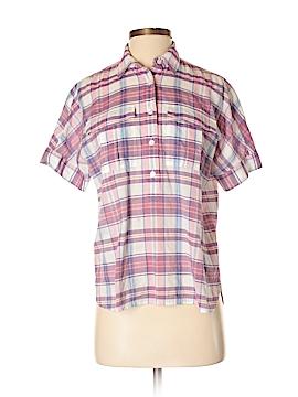 J. Crew Short Sleeve Button-Down Shirt Size 2 (Petite)