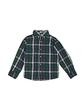 JK Kids Long Sleeve Button-Down Shirt Size 5