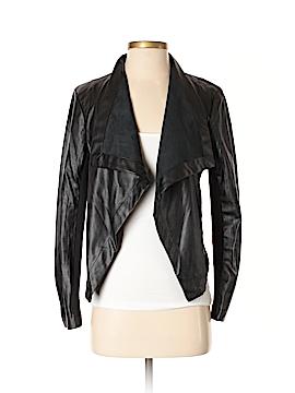 5/48 Faux Leather Jacket Size S
