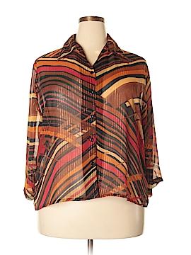 Southern Lady Long Sleeve Blouse Size 2X (Plus)