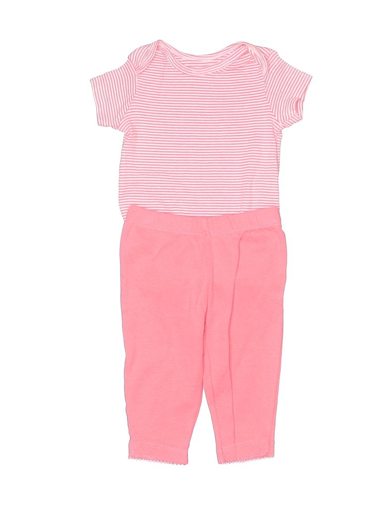 Carter's Girls Short Sleeve Onesie Size 3 mo