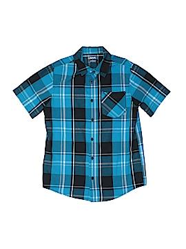 Tony Hawk Short Sleeve Button-Down Shirt Size L (Kids)