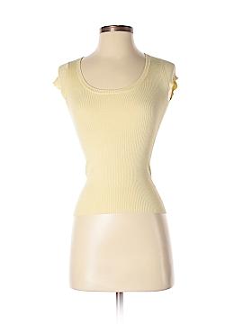 Kieran Short Sleeve Silk Top Size S