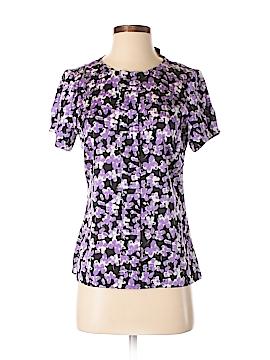 Semantiks Short Sleeve Silk Top Size XS