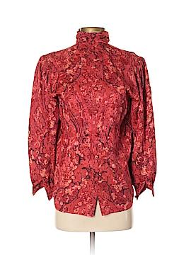 Nina Ricci Long Sleeve Silk Top Size 36 (EU)
