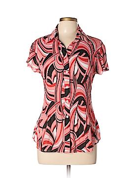 Serenade Short Sleeve Blouse Size L
