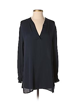 Giorgio Armani Long Sleeve Silk Top Size 44 (IT)