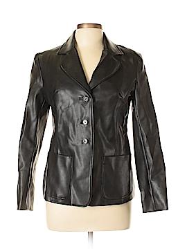 Rampage Women Faux Leather Jacket Size L
