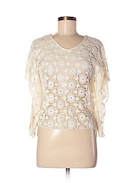 Elan Short Sleeve Blouse Size M