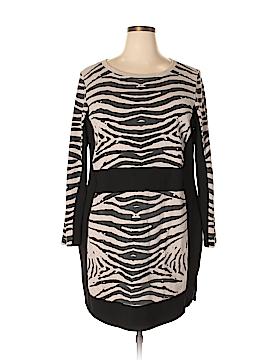 Carmakoma Casual Dress Size 22 Plus (L) (Plus)