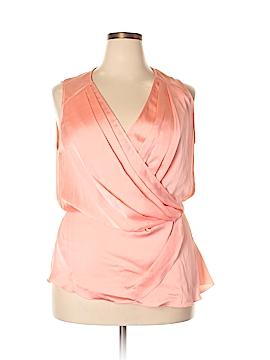Melissa McCarthy Seven7 Sleeveless Blouse Size 1X (Plus)