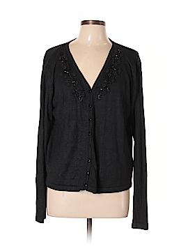 Kathy Ireland Silk Cardigan Size L