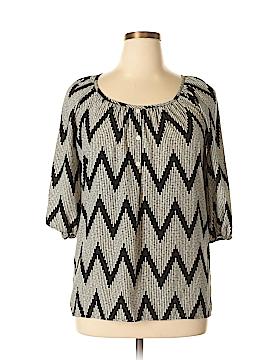 Glam 3/4 Sleeve Blouse Size M
