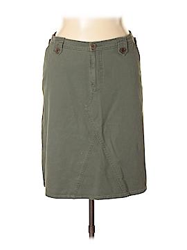 Max Studio Denim Skirt Size 14