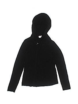 Aqua Zip Up Hoodie Size M (Youth)