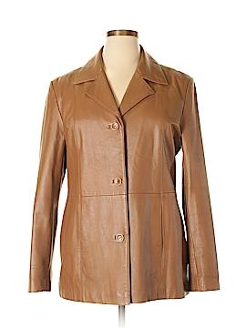 Jessica Holbrook Leather Jacket Size L