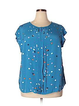 Boden Short Sleeve Blouse Size 18 (Plus)
