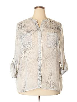 Covington Long Sleeve Blouse Size 2X (Plus)