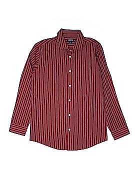 Chaps Long Sleeve Button-Down Shirt Size 14-16
