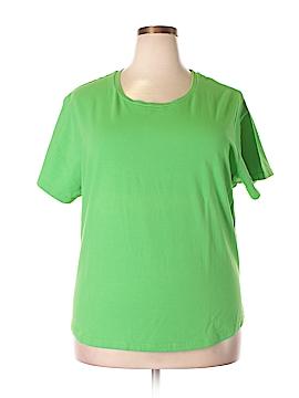 Faded Glory Short Sleeve T-Shirt Size 26 - 28 (Plus)