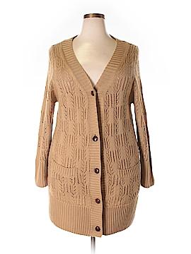 Karen Kane Wool Cardigan Size 1X (Plus)
