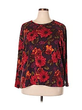 Cathy Daniels 3/4 Sleeve T-Shirt Size 3X (Plus)