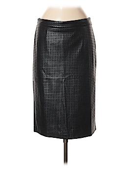 CATHERINE Catherine Malandrino Faux Leather Skirt Size 8