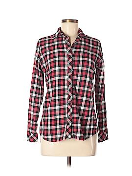 Great Northwest Indigo Long Sleeve Button-Down Shirt Size S