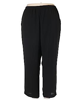 Leslie Fay Casual Pants Size 24W Petite (Plus)