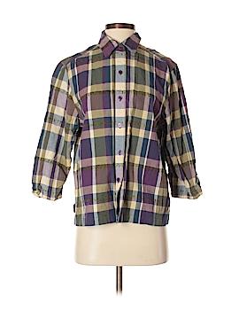 Cabin Creek 3/4 Sleeve Button-Down Shirt Size S