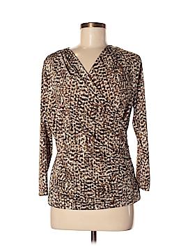 Jones New York Collection 3/4 Sleeve Top Size M