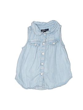 Baby Gap Sleeveless Button-Down Shirt Size 12-18 mo