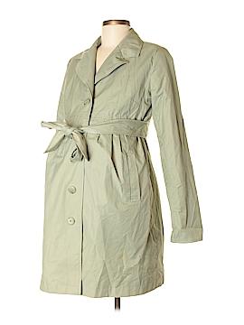 Liz Lange Maternity Trenchcoat Size S (Maternity)