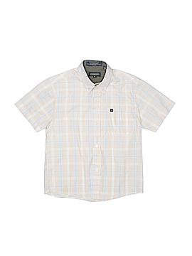 Gioberti Short Sleeve Button-Down Shirt Size 6