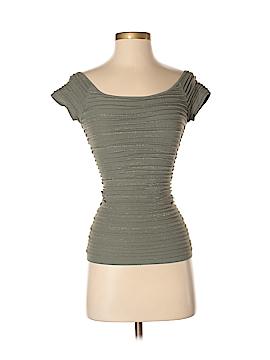 Bebe Short Sleeve Top Size P - Sm