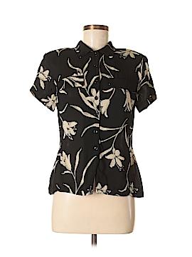 Jones New York Short Sleeve Button-Down Shirt Size 8