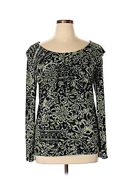 Claudia Richard Long Sleeve Top Size XL